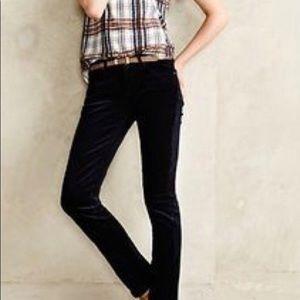 AG slim straight corduroy pants